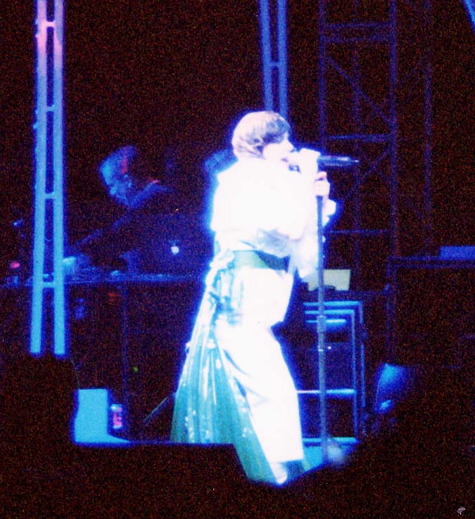 Bjork at Coachella 2002